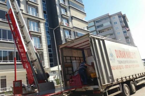 izmit samsun evden eve asansörlü nakliyat taşımacılık