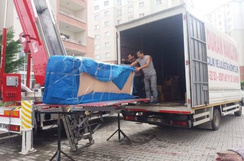 samsun ve Turkiye nın her ılınde asansörlü evden eve taşımacılık nakliyat